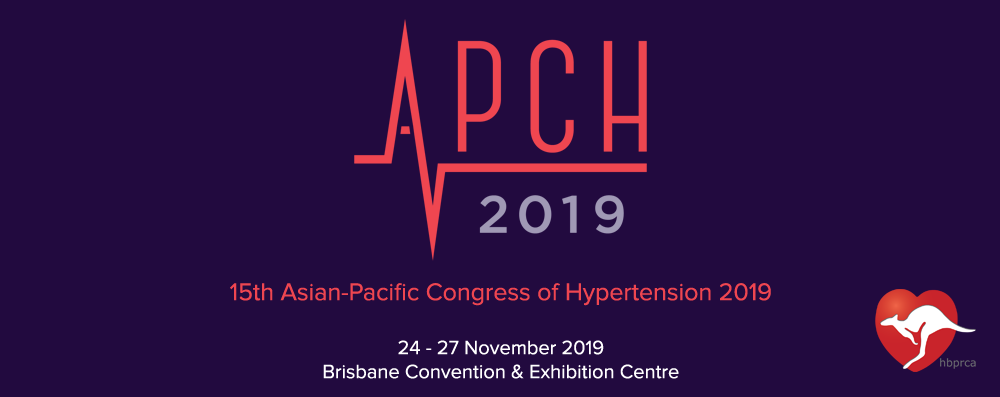 15th Asian Pacific Congress of Hypertension (APCH2019)
